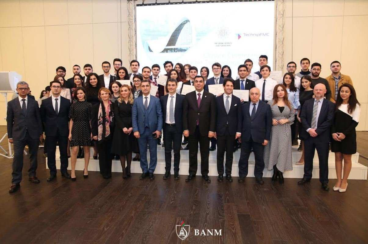 Eleven students of Baku Higher Oil School selected for international master's programme