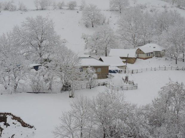 Snow depth hits 10 cm in northern region of Azerbaijan