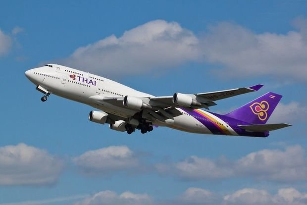 Thai Airways plane makes emergency landing with two dead passengers on board