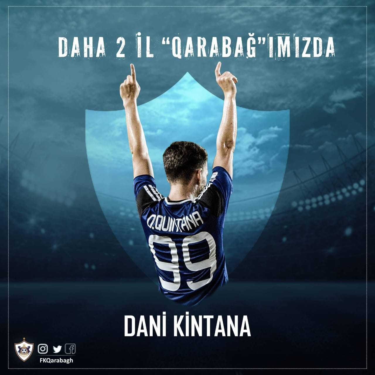 Qarabag FC bids farewell to Quintana