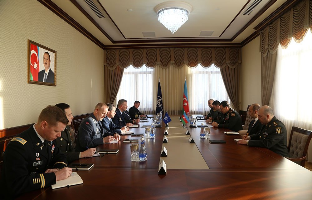 Chief of the General Staff of the Armed Forces of Azerbaijan meets with the Supreme Allied Commander Europe