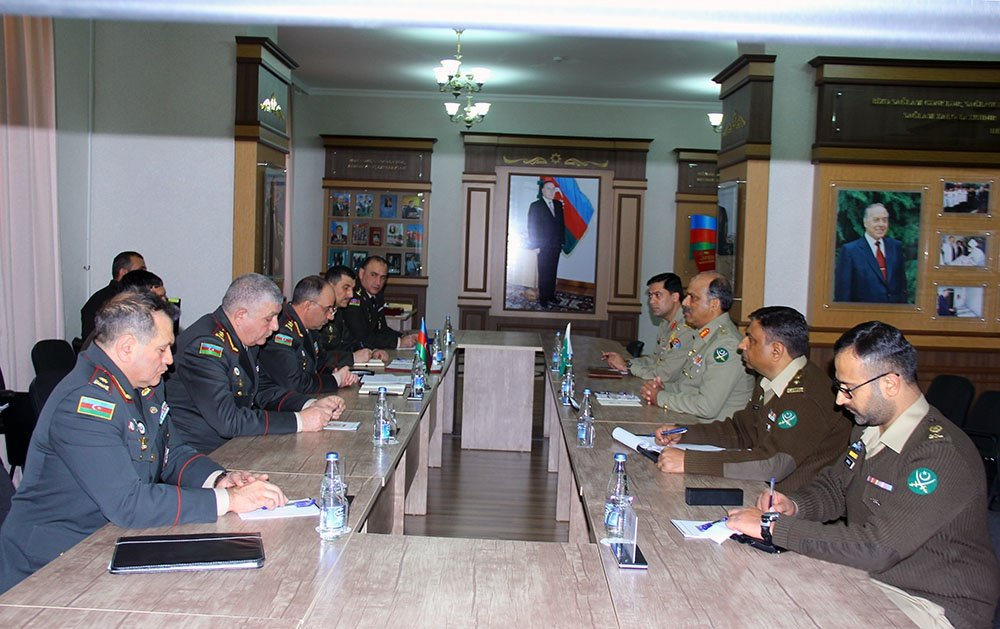 Pakistani military delegation is visiting Baku
