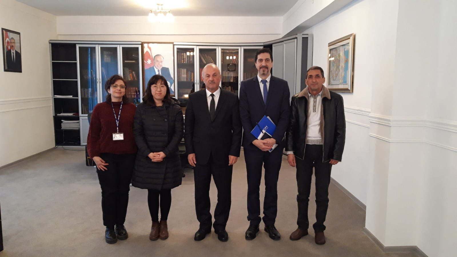 IOM representatives had an introductory meeting at Mingechevir Executive Power