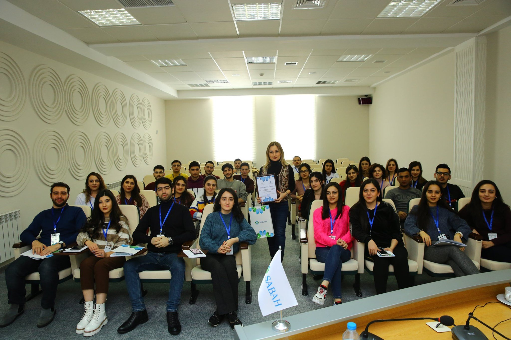Azercell shared experience with the talented SABAH groups students