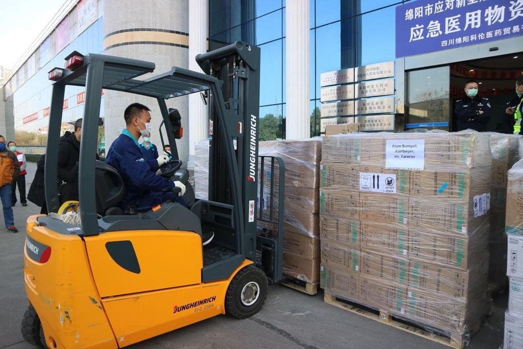 Coronavirus: Aid from Azerbaijan reached China