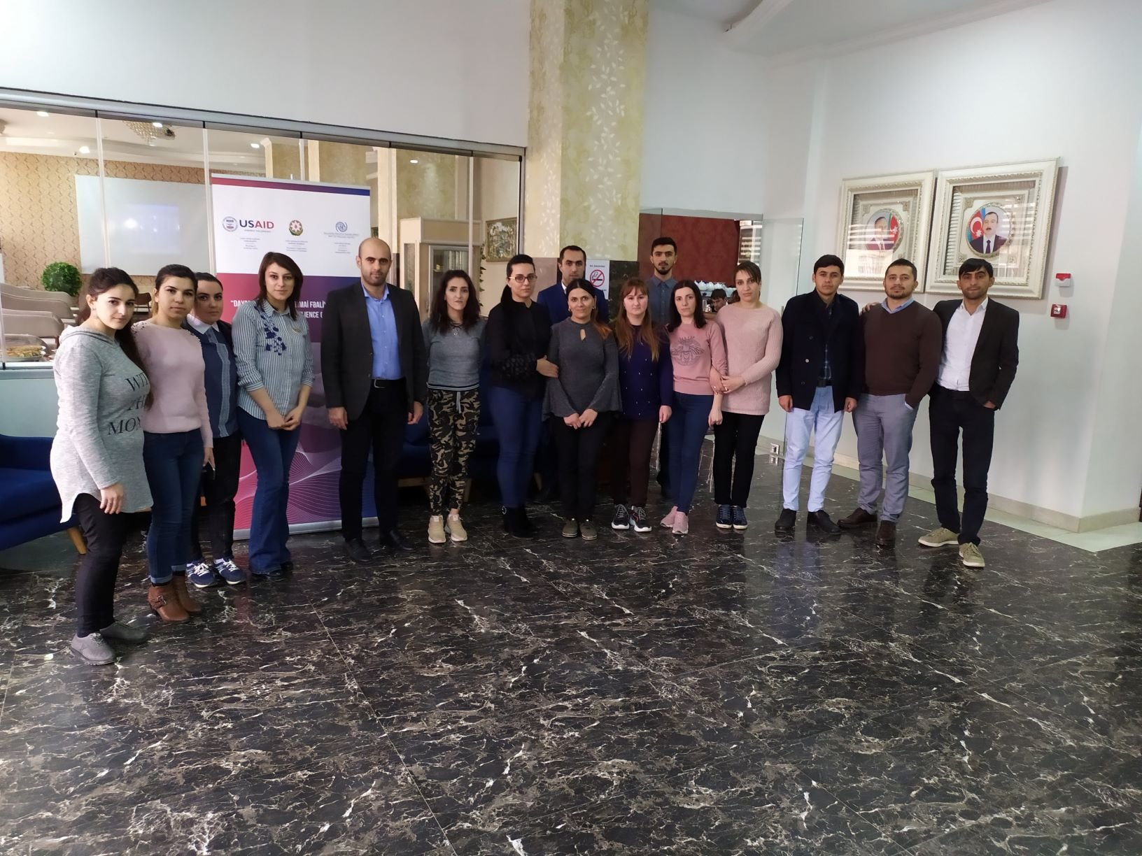 IOM Azerbaijan started business trainings for youth in the regions