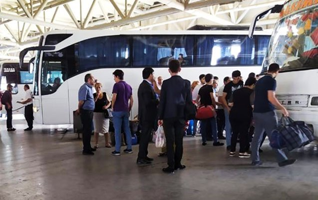 Passenger transportation between cities and regions suspended