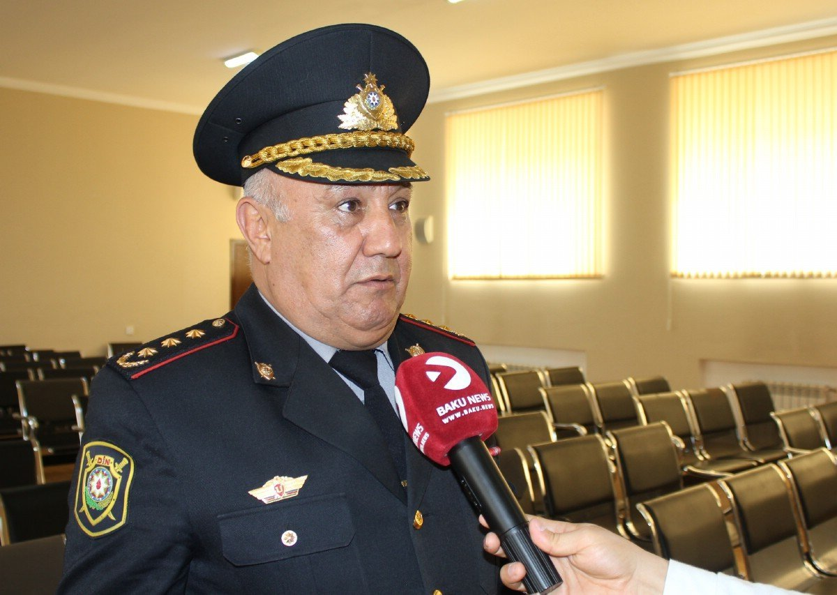 "Vagif Asadov: ""Drivers should not leave house unless necessary"""