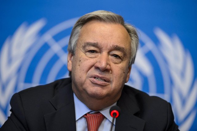 Coronavirus is the 'biggest challenge since WW2: UN chief