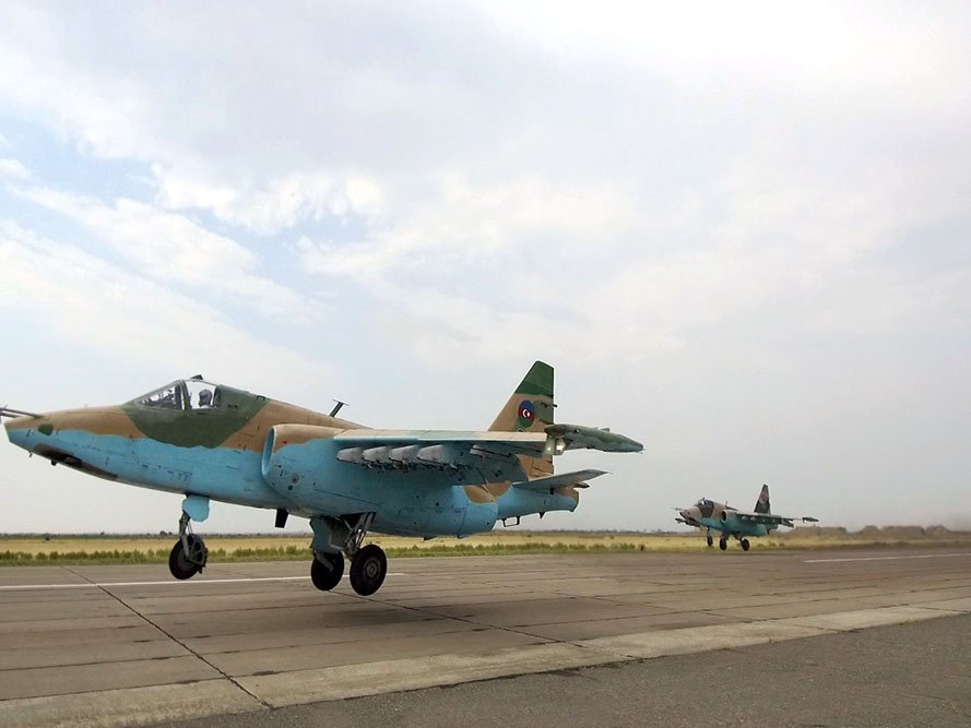 Flight Tactical Exercises were conducted with crews of the MiG-29 and Su-25