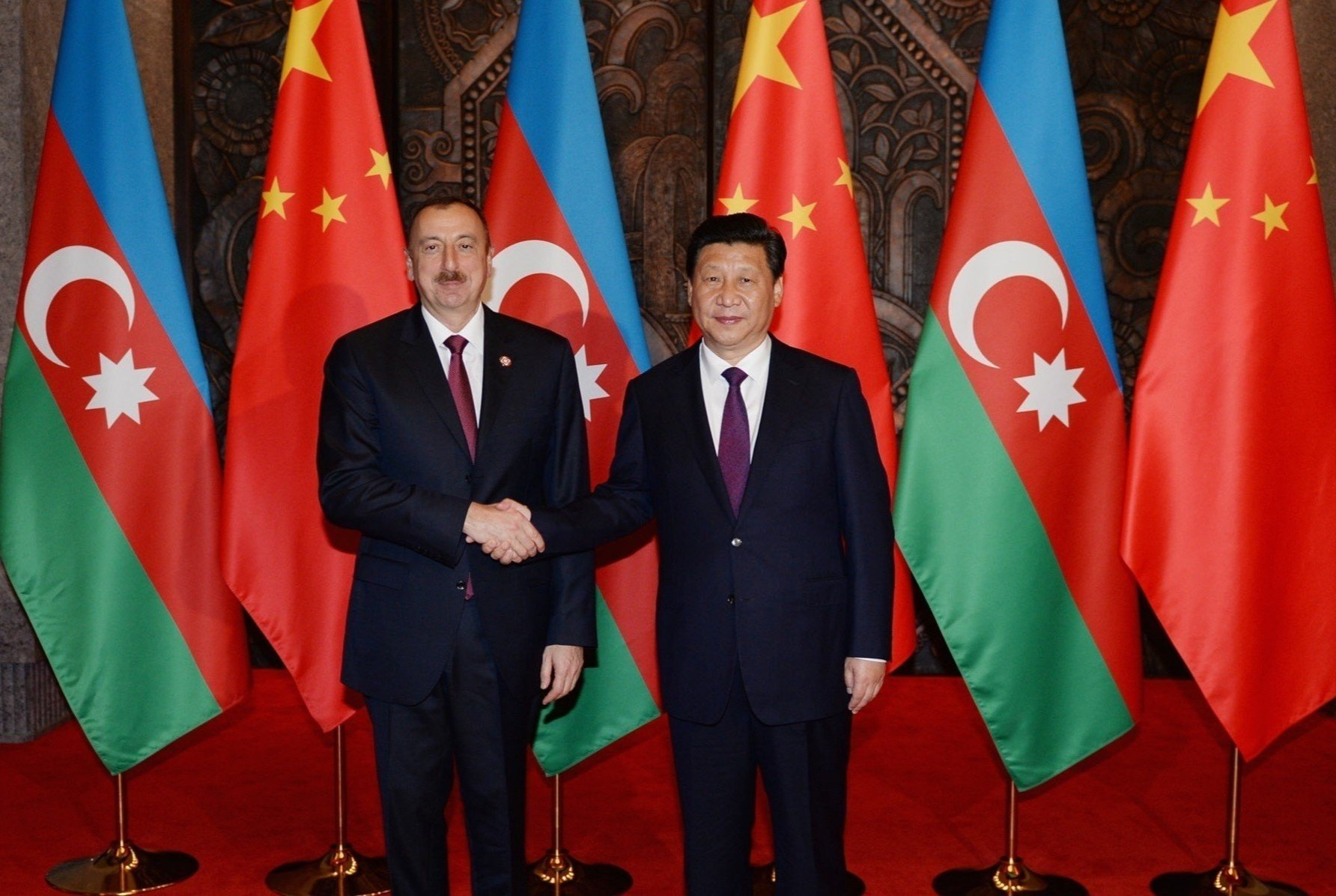 China's leader congratulates President Ilham Aliyev