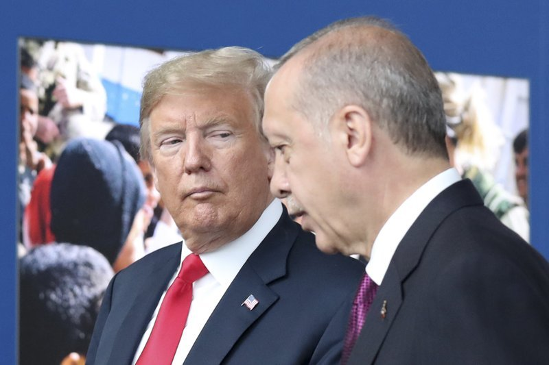Trump and Erdogan discuss Libya, Syria in call: Ankara