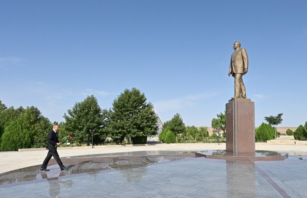 President Ilham Aliyev visits Gobustan region - PHOTO