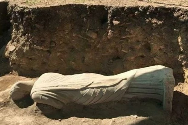 3rd-century statue unearthed in Turkey